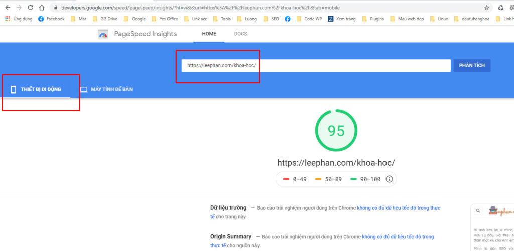 ztheme google speed